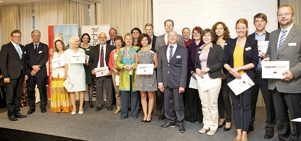 Preisverleihung, jugend forscht Schulpreis 2014