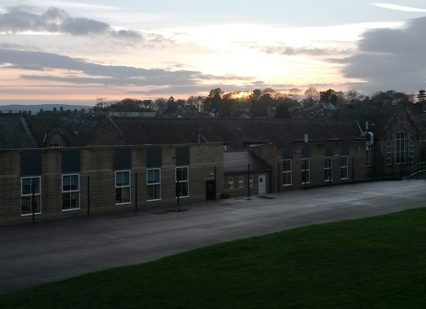 School View at Sunset